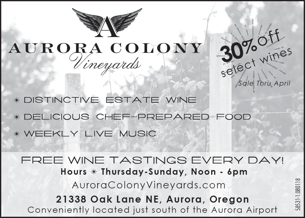 We are organize Weekly Live Music Event in Aurora, OR